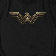 Justice League Movie Wonder Woman Logo Shirts