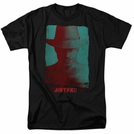Justified Shirt Raylan Givens Silhouette Black T-Shirt