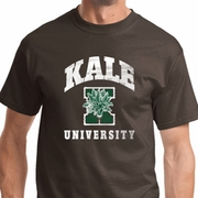 Kale University Darks Mens Yoga Shirts