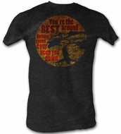 Karate Kid T-Shirt - You're The Best Adult Coal Heather Tee Shirt