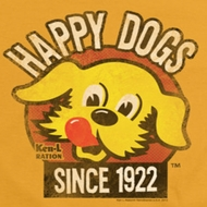 Ken L Ration Happy Dogs Shirts