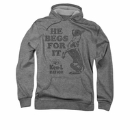 Ken L Ration Hoodie Beg For It Athletic Heather Sweatshirt Hoody
