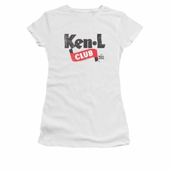 Ken L Ration Shirt Juniors Club Logo White T-Shirt