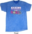 Kicking Breast Cancer is Our Goal Mineral Tie Dye Shirt