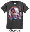 Kids Biker Shirt Big Chief Indian Motorcycle Tee T-Shirt