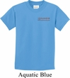 Kids Blue Dodge Charger Pocket Print Shirt