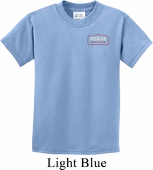 Kids Dodge Brothers Pocket Print Shirt