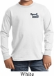 Kids Dodge Plymouth Cuda Pocket Print Long Sleeve Shirt