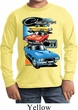 Kids Dodge Shirt Challenger Trio Long Sleeve Tee T-Shirt