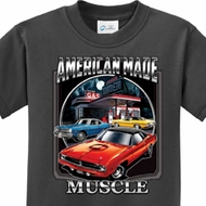 Kids Dodge Shirt Chrysler American Made Tee T-Shirt