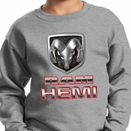 Kids Dodge Sweatshirt Ram Hemi Logo Sweat Shirt