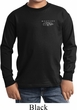 Kids Ford Mustang with Grill Pocket Print Long Sleeve Shirt
