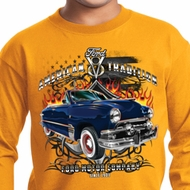 Kids Ford Shirt American Tradition Long Sleeve Shirt