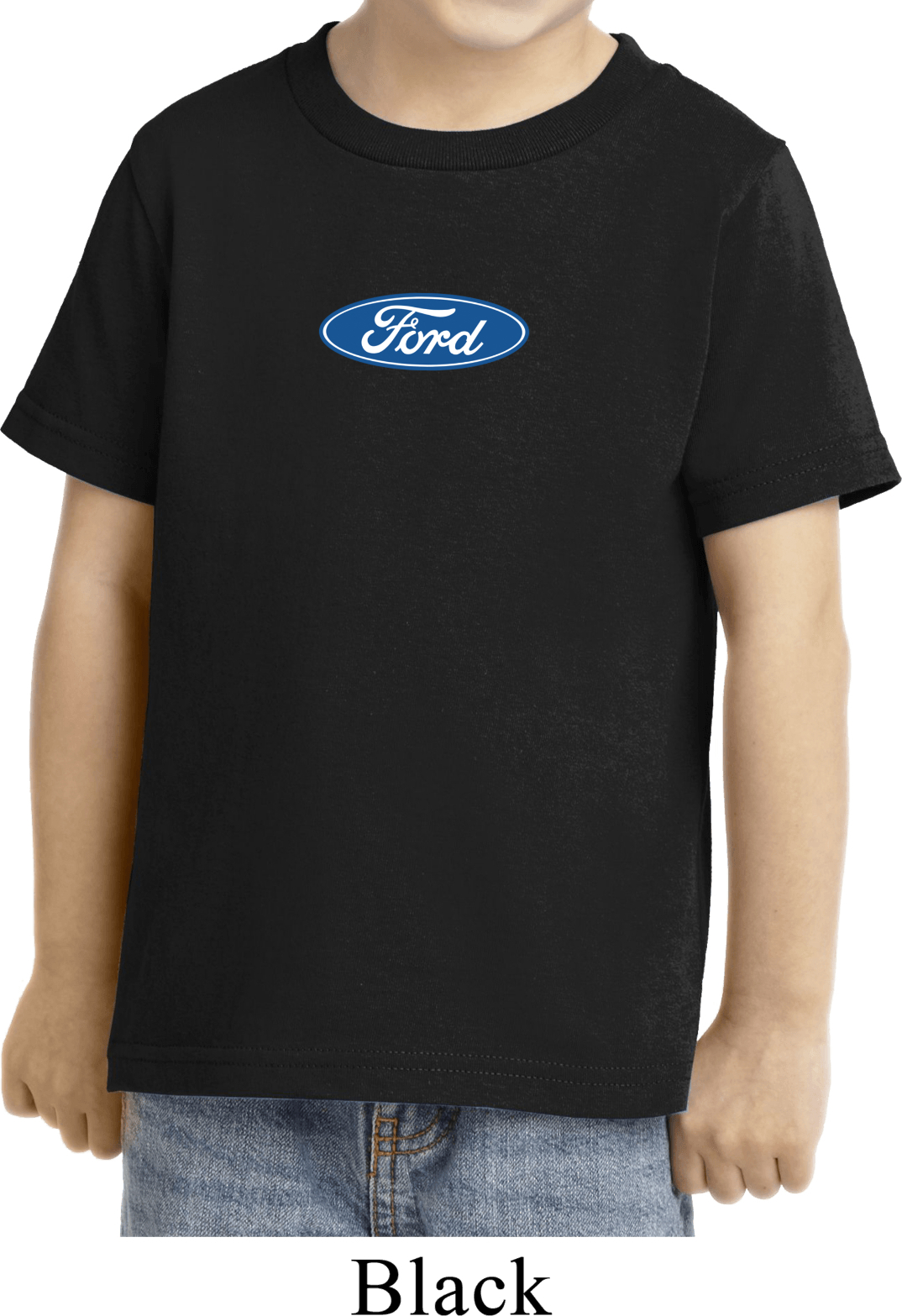 Kids Ford Shirt Ford Oval Middle Print Toddler Tee T Shirt