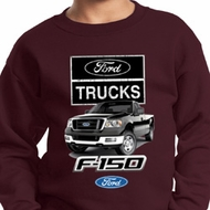 Kids Ford Sweatshirt F-150 Truck Sweat Shirt