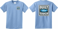 Kids Ford Tee Built Ford Tough (Front & Back) Youth T-shirt