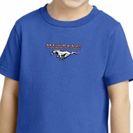 Kids Ford Tee Mustang Small Print Toddler Shirt
