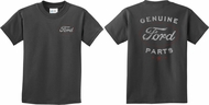 Kids Ford Tee New Genuine Ford Parts (Front & Back) Youth Shirt