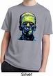 Kids Frankenstein Face Moisture Wicking Shirt