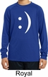 Kids Funny Shirt Smiley Chat Face Dry Wicking Long Sleeve Tee T-Shirt