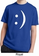 Kids Funny Shirt Smiley Chat Face Moisture Wicking Tee T-Shirt