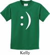 Kids Funny Shirt Smiley Chat Face Tee T-Shirt