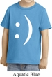 Kids Funny Shirt Smiley Chat Face Toddler Tee T-Shirt