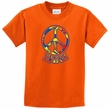 Kids Peace Shirt Funky Peace Tee T-Shirt