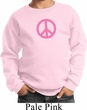 Kids Peace Sweatshirt Pink Peace Sweat Shirt
