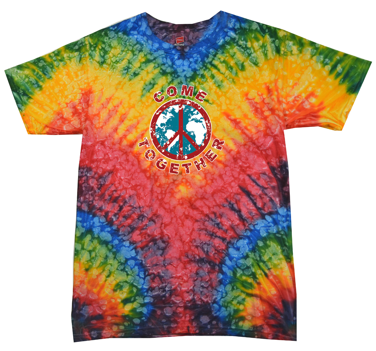Ford Mustang T Shirts >> Kids Peace Tie Dye Shirt Come Together Woodstock Youth Tie ...