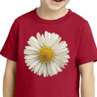 Kids Shirt White Daisy Toddler Tee T-Shirt