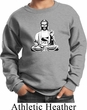 Kids Yoga At Peace Buddha Youth Sweatshirt