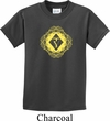 Kids Yoga Diamond Manipura Youth T-shirt