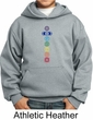 Kids Yoga Hoodie 7 Colored Chakras Youth Hoody
