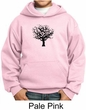 Kids Yoga Hoodie Black Tree of Life Youth Hoody