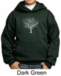 Kids Yoga Hoodie Grey Tree of Life Youth Hoody