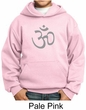 Kids Yoga Hoodie Sweatshirt Aum Symbol Meditation Youth Hoody