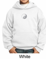 Kids Yoga Hoodie Sweatshirt Yin Yang Meditation Youth Hoody