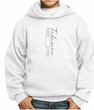 Kids Yoga Hoodie Tadasana Mountain Pose Youth Hoody