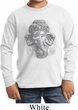 Kids Yoga Shirt 3D Ganesha Lights Long Sleeve Tee T-Shirt