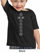 Kids Yoga Shirt 7 Chakras Meditation Youth Toddler T-shirt