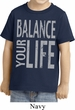 Kids Yoga Shirt Balance Your Life Toddler Tee T-Shirt
