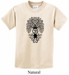 Kids Yoga Shirt Black Bodhi Tree Tee T-Shirt
