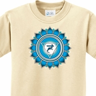 Kids Yoga Shirt Blue Vishuddha Tee T-Shirt