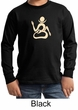 Kids Yoga Shirt Body OM Long Sleeve Tee T-Shirt