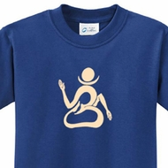 Kids Yoga Shirt Body OM Tee T-Shirt