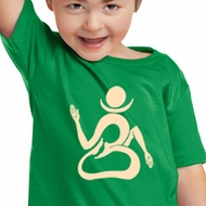 Kids Yoga Shirt Body OM Toddler Tee T-Shirt
