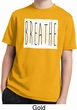 Kids Yoga Shirt Breathe Moisture Wicking Tee T-Shirt