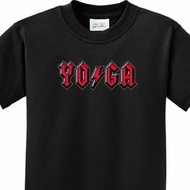 Kids Yoga Shirt Classic Rock Yoga Tee T-Shirt