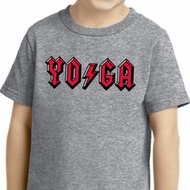 Kids Yoga Shirt Classic Rock Yoga Toddler Tee T-Shirt